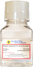 Poly(L-lysine) Solution Bottle