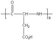 Poly(L-aspartic acid) Structure