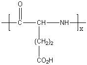 Poly(L-glutamic acid) Structure